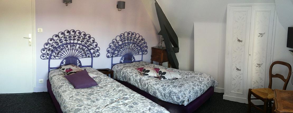 Chambre Twin - Auberge du Puits (Souillac)
