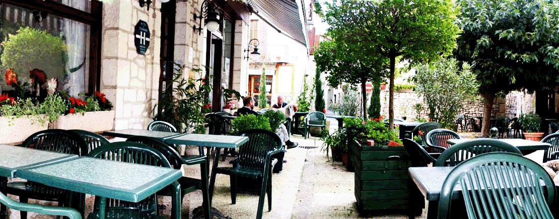 hotel restaurant souillac terrasse calme